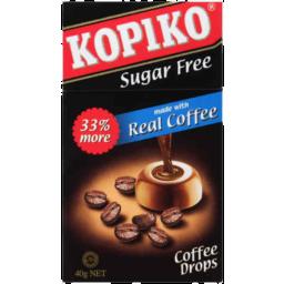 Photo of Kopiko Sugar Free Coffee Drops 40g