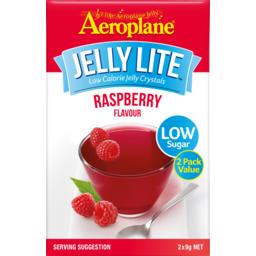 Photo of Aeroplane Raspberry Lite Jelly 2x9 Gram