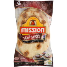Photo of Mission Indian Naan Bread Plain 280gm