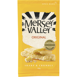 Photo of Mersey Valley Original Vintage Club Cheddar 180gm