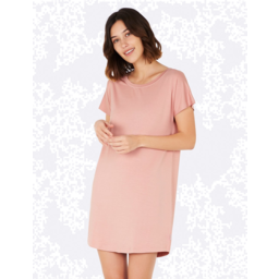 Photo of BOODY BAMBOO Goodnight Nightdress Dusty Pink L