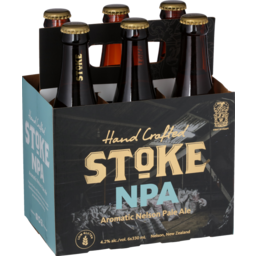 Photo of Stoke Nelson Pale Ale 330ml Bottles 6 pack