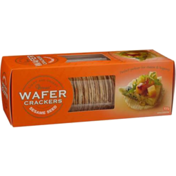 Photo of OB Finest Wafer Crackers Sesame Seed 100g