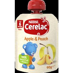 Photo of Nestle Cerelac Apple & Peach Pouch - 90g