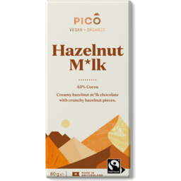 Photo of Pico Chocolate Hazelnut Milk Vegan 80g