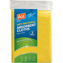 Photo of Ace Cloth Absorbent 2 Pack