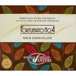 Photo of Anvers Milk 47% Fortunato No 4 100gm
