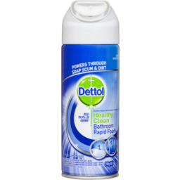 Photo of Dettol Healthy Clean Bathrrom Rapid Foam Spray 390gm