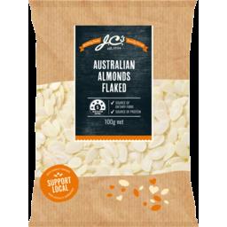 Photo of Jc's Australian Almonds Flaked 100gm