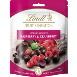 Photo of Lindt Fruit Sensation Raspberry And Cranberry 150g