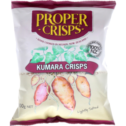 Photo of Proper Crisps Kumara Lightly Salted 100g