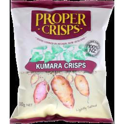Photo of Proper Crisps Kumara Lightly Salted 100g
