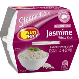 Photo of Sunrice Quick Cups X2 Fragrant Jasmine Rice 250g