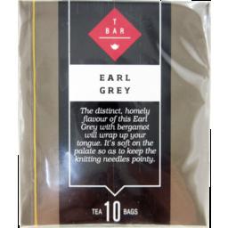 Photo of T Bar Earl Grey Tea Bags 10 Pack 20g