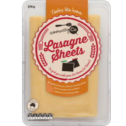 Photo of Community Co Lasagne 375g