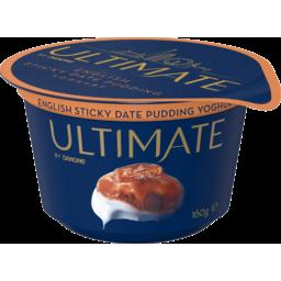 Photo of Danone Ultimate English Sticky Date Pudding Yoghurt 160g