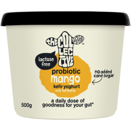 Photo of The Collective Probiotic Kefir Yoghurt Mango With Turmeric 500g
