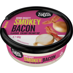 Photo of Zoosh Smokey Bacon Dip 185g