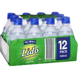 Photo of Tru Blu Lido Lemonade 300ml X 12pk