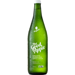 Photo of The Good Sparkling Apple Juice 750mL