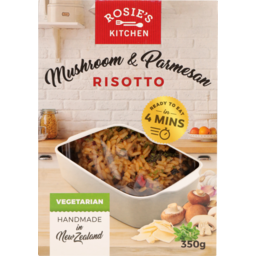 Photo of Rosies Kitchen Meal Mushroom & Parmesan Risotto 350g
