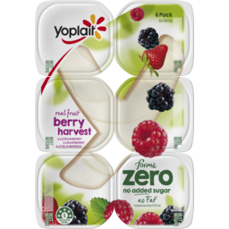 Photo of Yoplait Forme Zero Real Fruit Berry Harvest 6x160g