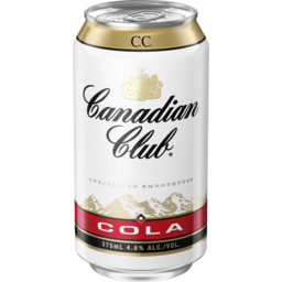 Photo of Canadian Club & Cola 375ml