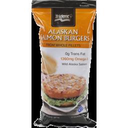 Photo of Trident Salmon Burgers Alaskan
