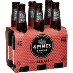 Photo of 4 Pines Pale Ale 6 Pack 330ml Bottles
