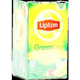 Photo of Lipton Pure Green Tea Bags 100% Natural - 20 Ct