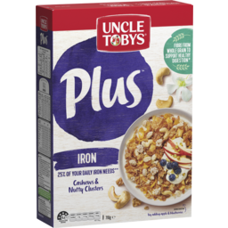 Photo of Uncle Tobys Plus Iron Breakfast Cereal 710g