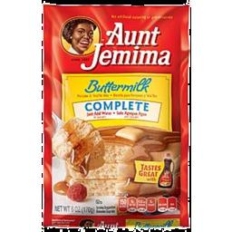 Photo of Aunt Jemima Complete Buttermil Pancake Mix 6 Ounce Plastic Pouch