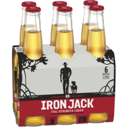 Photo of Iron Jack Full Strength Lager Bottles