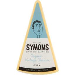 Photo of Symons - Organic Vintage Cheese - 150g