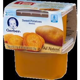 Photo of Gerber 2nd Foods Sweet Potatoes - 2 Ct