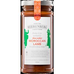Photo of Beerenberg Slow Cooker Moroccan Lamb 240ml