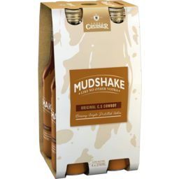 Photo of Vodka Cruiser Mudshake C.S Cowboy 270ml 4 Pack