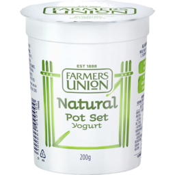 Photo of Farmers Union Natural Yogurt 200g