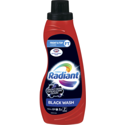Photo of Radiant Black Wash Laundry Liquid 750ml
