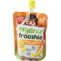 Photo of Whole Kids Frooshie Mango Carrot 90g