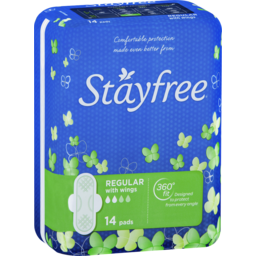 Photo of Stayfree Regular With Wings 14 Pads