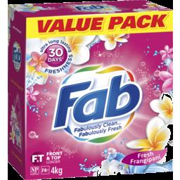 Photo of Fab Fresh Frangipani Laundry Powder Detergent 4kg