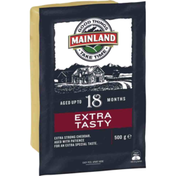 Photo of Mainland Cheese Extra Tasty 500g