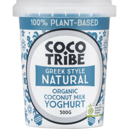 Photo of Coco Tribe Greek Style Natural Organic Coconut Milk Yoghurt 500g