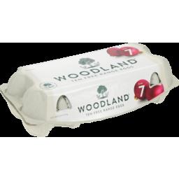 Photo of Woodland Eggs Free Range Size 7 - 10 Pack