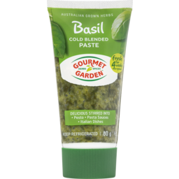 Photo of Gourmet Garden Basil Cold Blended Paste 80g