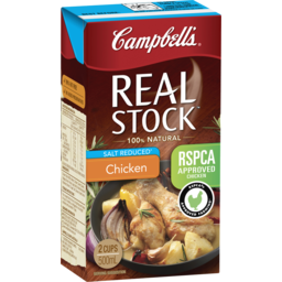 Photo of Campbell's Real Stock Chicken Stock Salt Reduced 500ml