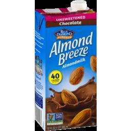 Photo of Blue Diamond Almonds Almond Breeze Almondmilk Chocolate Unsweetened