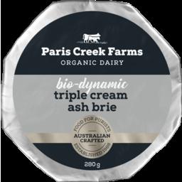 Photo of Triple Cream Ash Brie 280g (6)
