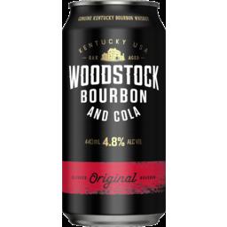 Photo of Woodstock & Cola 4.8% 440ml